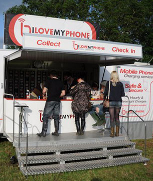 Phone Charging for Festivals
